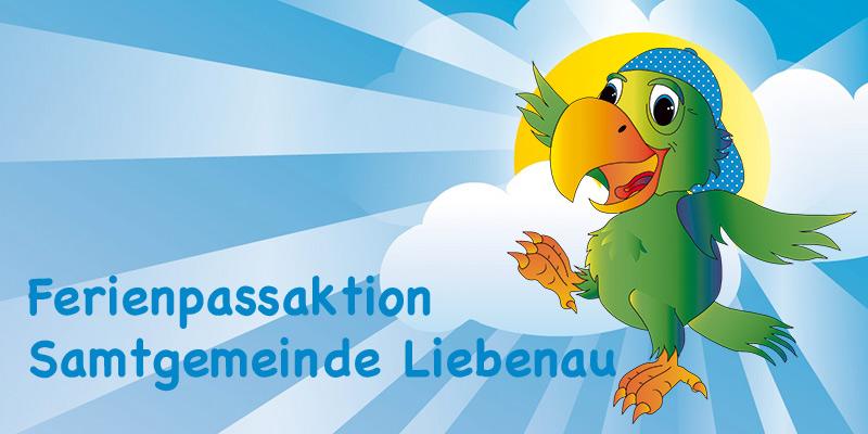 Button - Ferienpassaktion der Samtgemeinde Liebenau